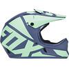 Fox Rampage Race Kask niebieski/turkusowy